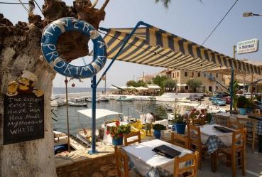 Agios Nikolaos, Messenischischer Golf,  Peloponnes, Griechenland, Sommer 2009