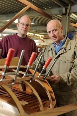 Rolf und Malte Steckmest, Bootsbauer