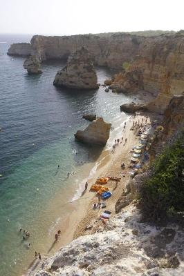 Praia de Marinha, bei Portimao, Algarve, Portugal