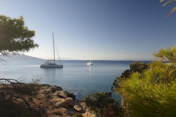 Insel N. Angistri, bei Insel Aegina, Saronischer Golf, Griechenland