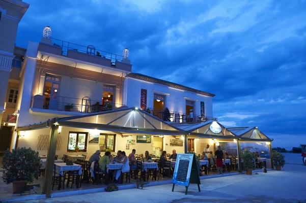 Stadt Skopelos, Insel Skopelos, noerdliche Sporaden, Griechenland
