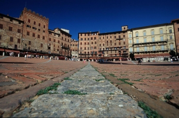 Hauptplatz Il Campo, Siena, Toskana