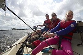 Familienurlaub mit Segelausbildung, Krekt Sailing, Provinz Friesland, Holland