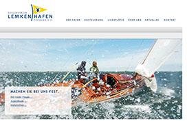 Webpraesenz Seglerverin Lemkenhafen Fehmarn e.V. (www.svlf.de)